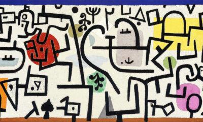 Mueble Cuadro Paul Klee rich harbour