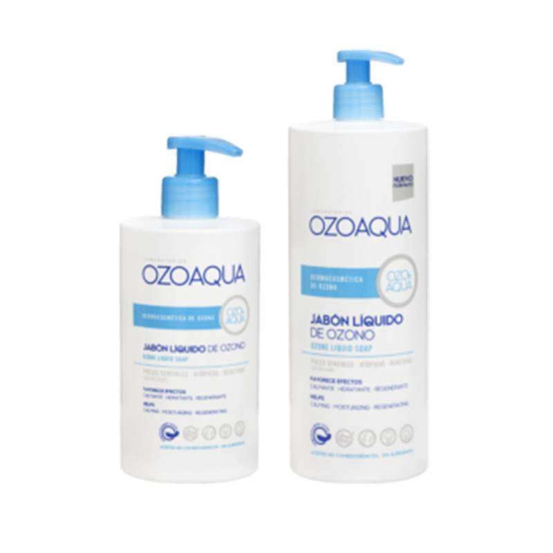 jabón líquido ozono ozoaqua
